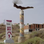 Escultura Entrad